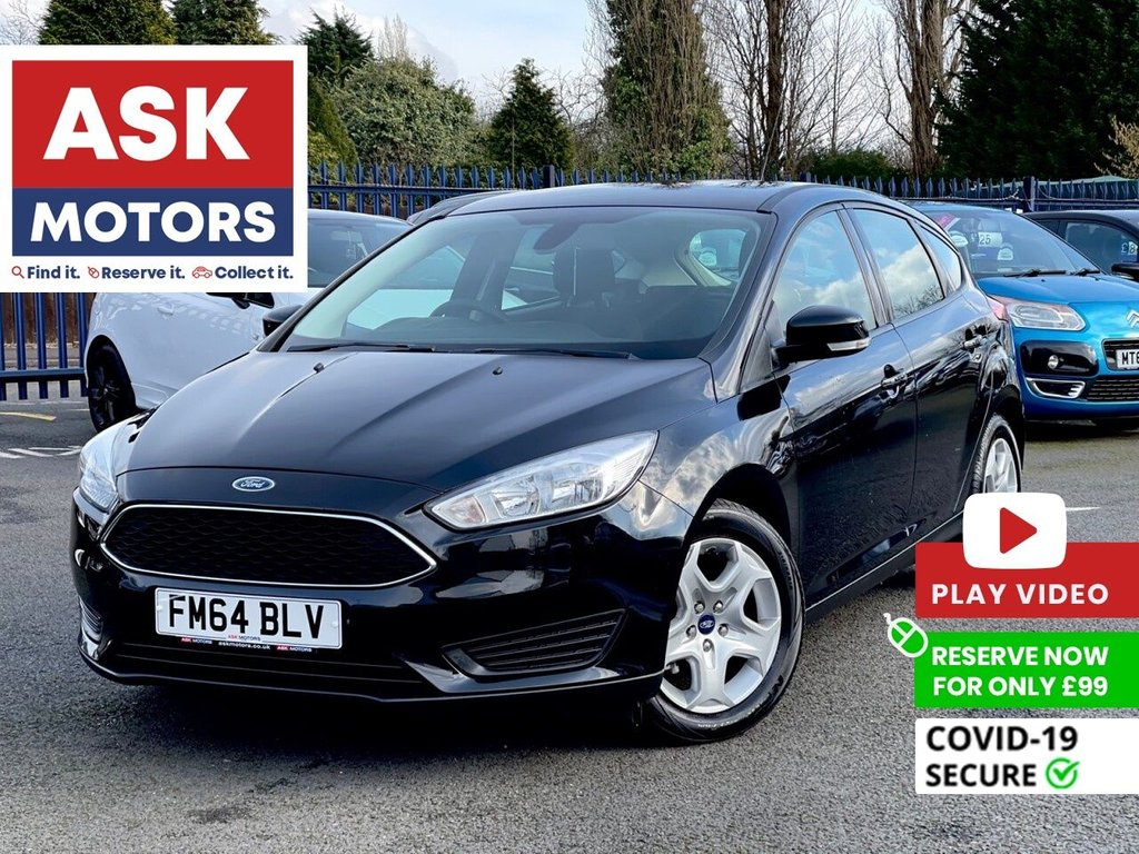 USED 2015 64 FORD FOCUS 1.6 STYLE TDCI 5d 94 BHP