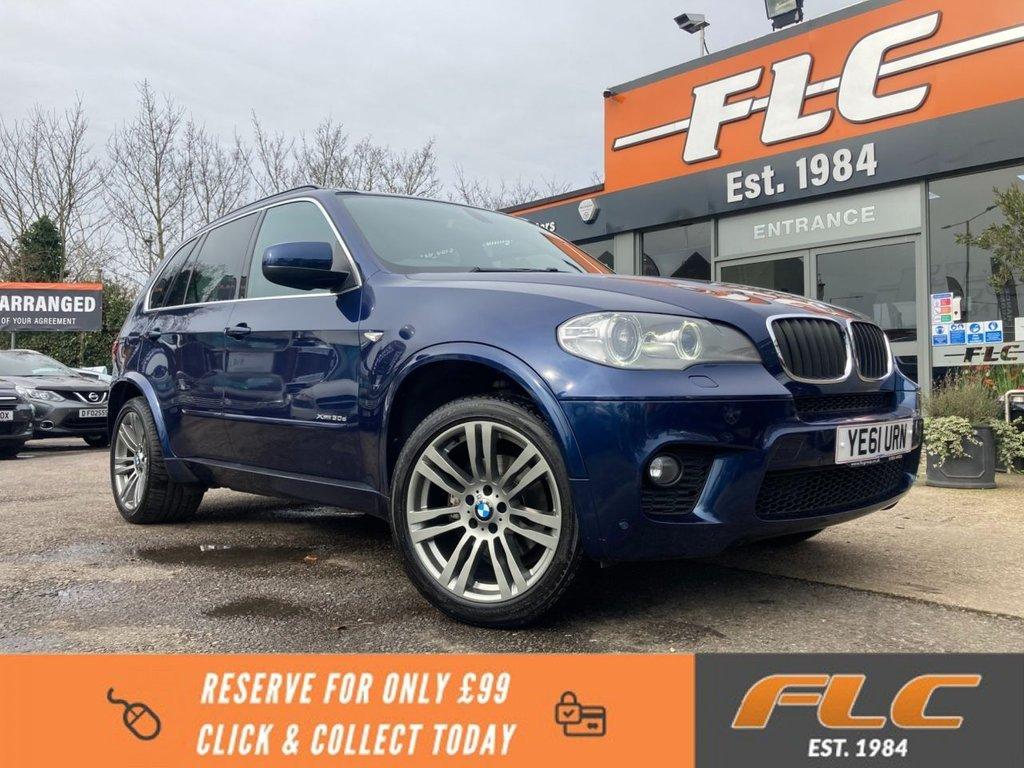 USED 2011 61 BMW X5 3.0 XDRIVE30D M SPORT 5d 241 BHP