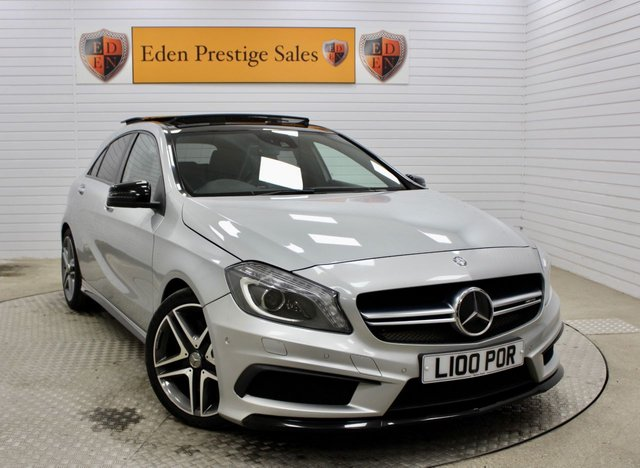 USED 2015 15 MERCEDES-BENZ A-CLASS 2.0 A45 AMG 4MATIC 5d 360 BHP