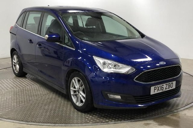 2016 16 FORD GRAND C-MAX 1.5 TDCI ZETEC AUTOMATIC 120 BHP