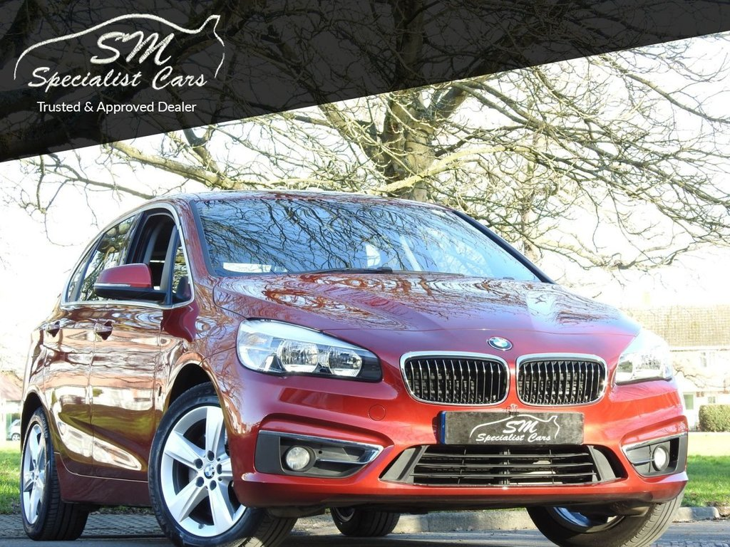 USED 2017 67 BMW 2 SERIES 1.5 225XE PHEV LUXURY ACTIVE TOURER 5d 134 BHP ONLY 17K FROM NEW A/C VGC