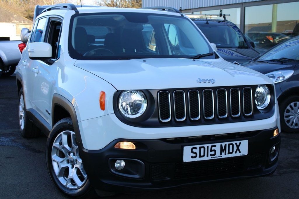 USED 2015 15 JEEP RENEGADE 1.6 M-JET LONGITUDE 5d 118 BHP