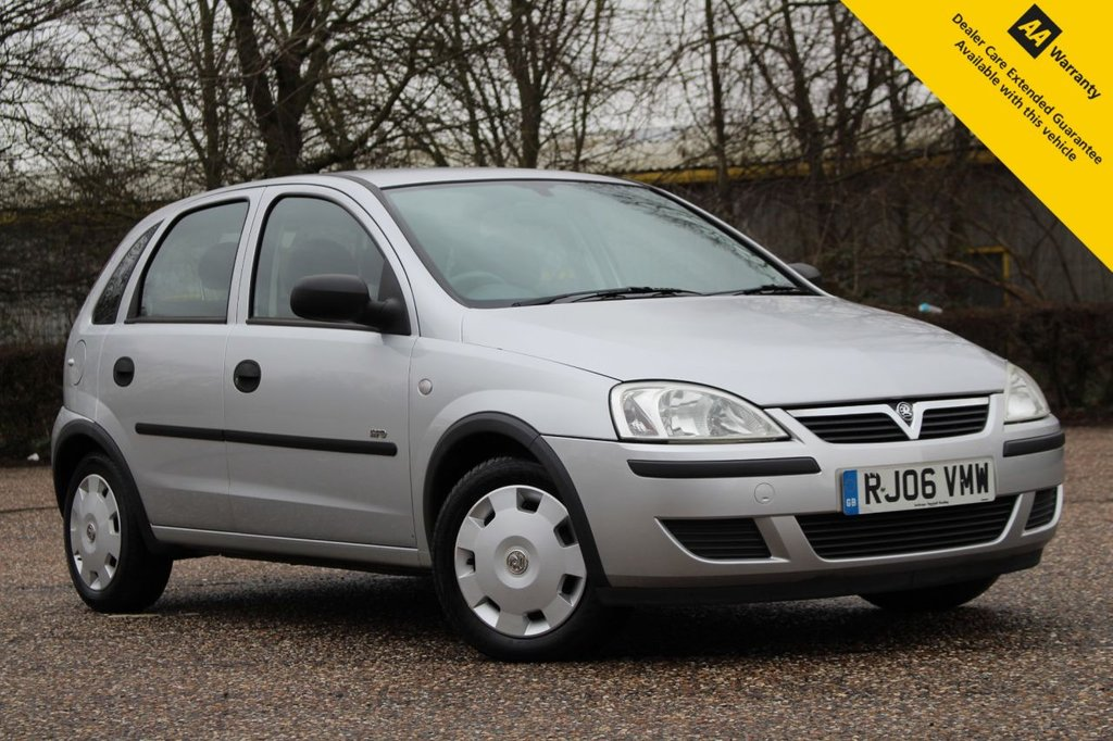 USED 2006 06 VAUXHALL CORSA 1.2 LIFE 16V TWINPORT 5d 80 BHP ** SUPERB LOW MILEAGE EXAMPLE ** 13 SERVICE STAMPS - FAULTLESS FULL SERVICE HISTORY ** BRAND NEW MOT ** ULEZ CHARGE EXEMPT ** IDEAL 1ST CAR - RELIABLE + CHEAP INSURANCE ** CLICK & COLLECT + NATIONWIDE DELIVERY AVAILABLE ** BUY ONLINE IN CONFIDENCE FROM A MULTI AWARD WINNING 5* RATED DEALER **