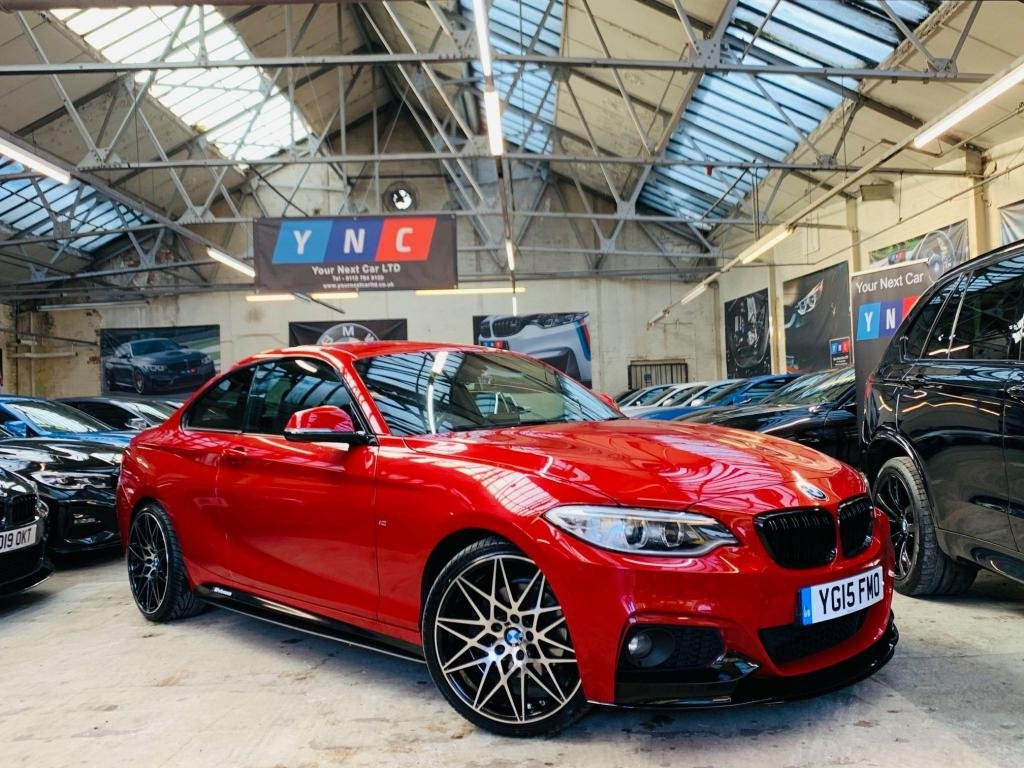 USED 2015 15 BMW 2 SERIES 2.0 220d M Sport (s/s) 2dr PERFORMANCE KIT 19S STUNNER!