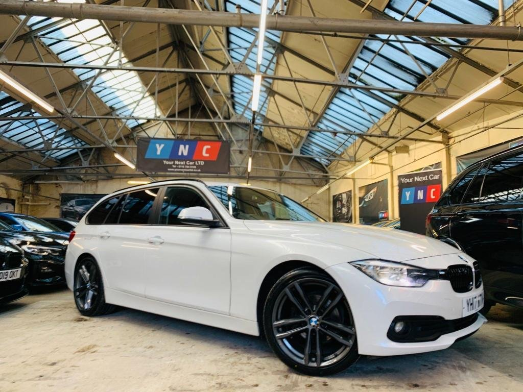 USED 2017 17 BMW 3 SERIES 2.0 320d ED Plus Touring Auto (s/s) 5dr M SPORT 19S LTHR HTD STS 1OWNE