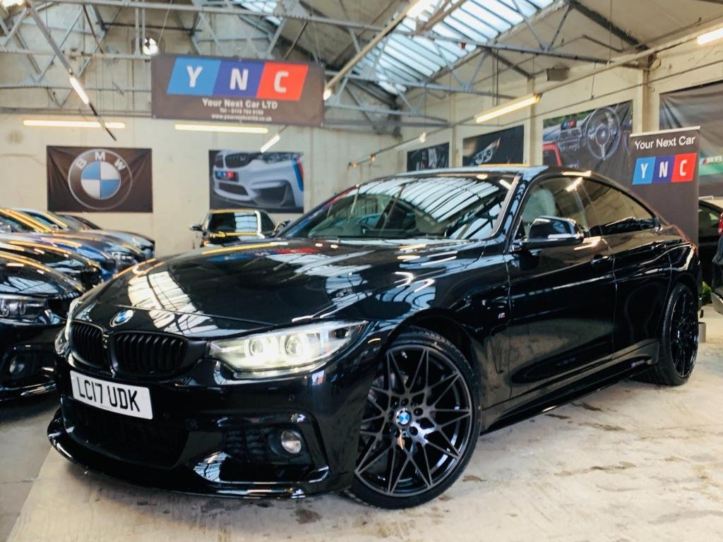 USED 2017 17 BMW 4 SERIES 2.0 420d M Sport Gran Coupe Auto (s/s) 5dr PERFORMANCE KIT 20S 1 OWNER