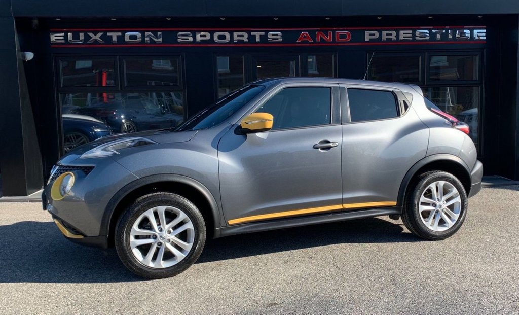USED 2017 67 NISSAN JUKE 1.2 DIG-T N-Connecta (s/s) 5dr FULL SERVICE HISTORY