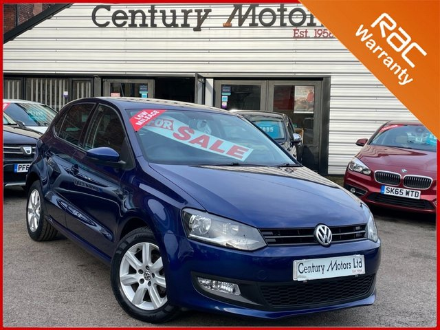 2014 63 VOLKSWAGEN POLO 1.4 Match Edition 5dr - LOW INSURANCE
