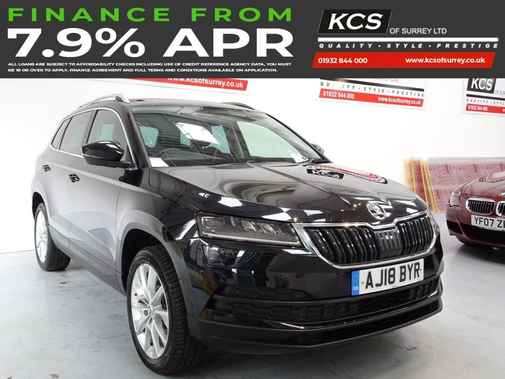 USED 2018 18 SKODA KAROQ 1.0 SE L TSI 5d 114 BHP SAT NAV -HEATED SEATS -CAMERA