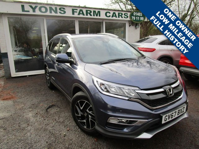 USED 2018 67 HONDA CR-V 2.0 I-VTEC SE PLUS NAVI 5d 153 BHP Low Mileage, Full Service History, One Owner, MOT until December 2021