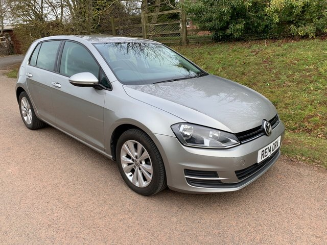 USED 2014 14 VOLKSWAGEN GOLF 1.6 SE TDI BLUEMOTION TECHNOLOGY 5d 103 BHP ** £0 ROAD FUND ** MOT ** SERVICE HISTORY **