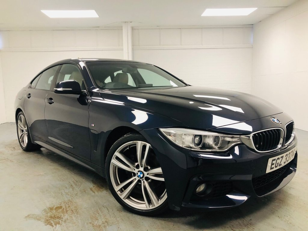 USED 2016 BMW 4 SERIES 2.0 420D M SPORT GRAN COUPE 4d 188 BHP £353 a month, T&Cs apply.