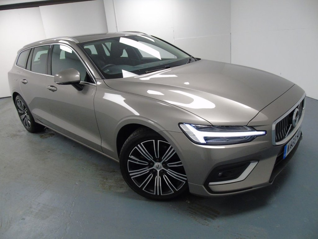 USED 2018 68 VOLVO V60 2.0 T5 INSCRIPTION 5d 246 BHP £464 a month, T&Cs apply.