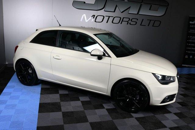 USED 2011 11 AUDI A1 LATE 2011 AUDI A1 1.6 TDI SPORT 3d 103 BHP BLACK EDITION STYLE (FINANCE & WARRANTY)
