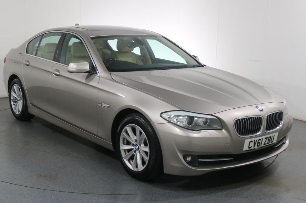 USED 2011 61 BMW 5 SERIES 2.0 520D SE 4d 181 BHP GREAT SPEC I 2 OWNERS I 5 STAMP HISTORY