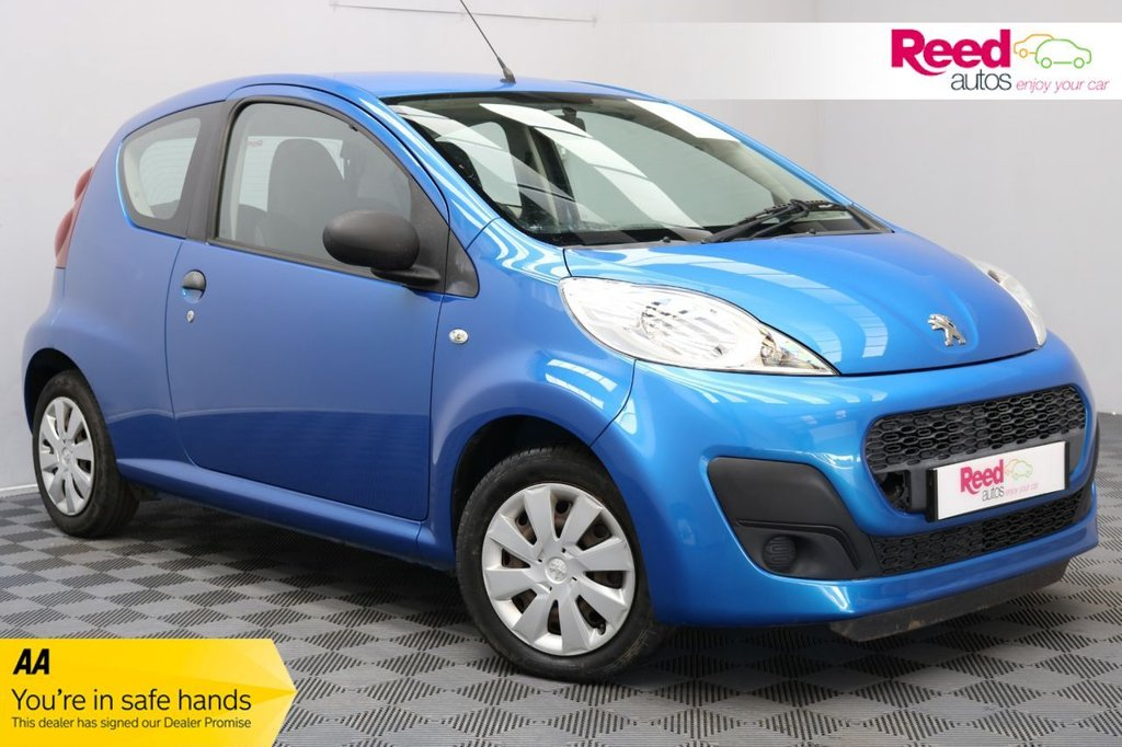 USED 2014 63 PEUGEOT 107 1.0 ACCESS 3d 68 BHP 1 OWNER+FULL SERVICE HISTORY+TINT GLASS+HEATED WNDW SCRN+CLOCK