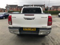 USED 2018 67 TOYOTA HI-LUX 2.4 INVINCIBLE 4WD D-4D 4dr 5 Seat Double Cab Pickup 4x4 AUTO. Recent Service & MOT, New Front Brakes. Now Ready to Finance and Drive Away Today The Perfect Pick Up