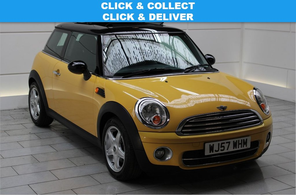 USED 2007 57 MINI HATCH COOPER 1.6 COOPER D [CHILI PACK][PAN ROOF] HATCHBACK