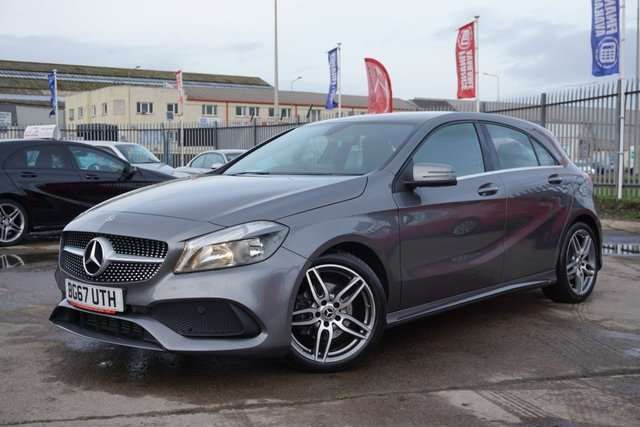 USED 2017 67 MERCEDES-BENZ A-CLASS 1.5 A 180 D AMG LINE 5d 107 BHP GREAT EXAMPLE LOW MILEAGE