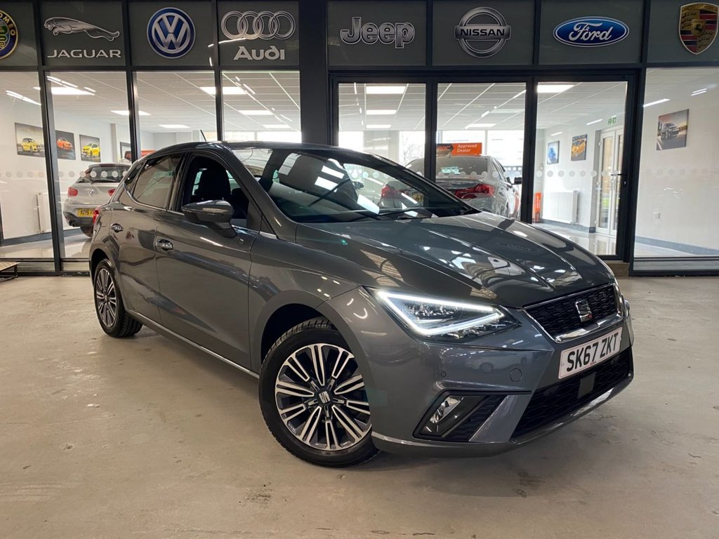 USED 2017 67 SEAT IBIZA 1.0 TSI XCELLENCE 5d 94 BHP Complementary 12 Months RAC Warranty and 12 Months RAC Breakdown Cover Also Receive a Full MOT With All Advisory Work Completed, Fresh Engine Service and RAC Multipoint Check Before Collection/Delivery