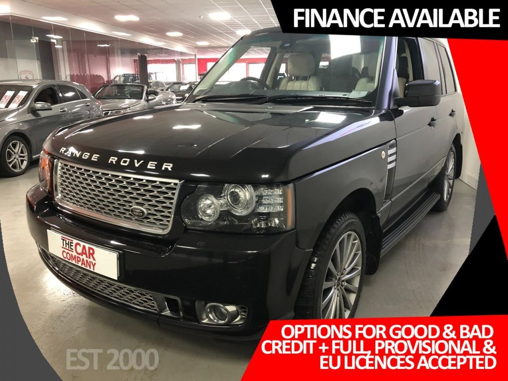 USED 2012 62 LAND ROVER RANGE ROVER 4.4 TDV8 AUTOBIOGRAPHY 5d 313 BHP * CRUISE   * BLUETOOTH * NAV * 20 INCH  ALLOYS * PRIVACY GLASS *