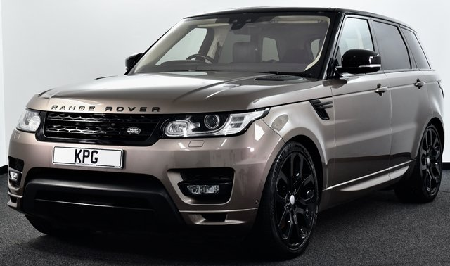 """USED 2017 17 LAND ROVER RANGE ROVER SPORT 3.0 SD V6 Autobiography Dynamic CommandShift 2 4X4 (s/s) 5dr £87k New, Dual View TV, 22""""s +"""