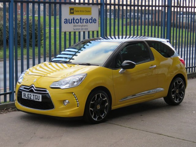 USED 2012 62 CITROEN DS3 1.6 E-HDI AIRDREAM DSPORT 3dr