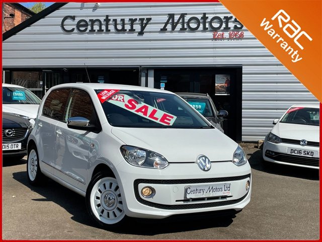 2012 62 VOLKSWAGEN UP 1.0 UP White Edition 5dr-ALLOY WHEELS