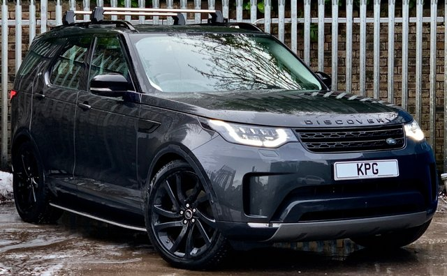 USED 2018 18 LAND ROVER DISCOVERY 2.0 SD4 HSE Luxury Auto 4WD (s/s) 5dr £9k Extras, Rear Ent, Black Pk