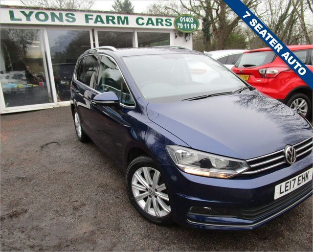 USED 2017 17 VOLKSWAGEN TOURAN 1.4 SEL TSI BLUEMOTION TECHNOLOGY DSG 5d 148 BHP AUTOMATIC *7 SEATER* Excellent Volkswagen Service History + Just Serviced, One Owner from new, NEW MOT, Automatic, 7 Seater