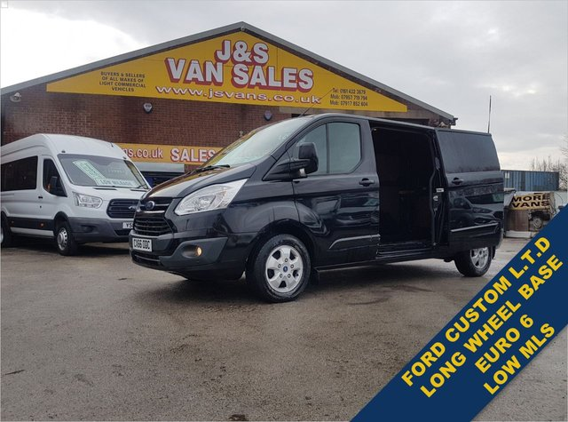 USED 2016 66 FORD TRANSIT CUSTOM 2.0 290 LIMITED LR P/V 130 BHP L.W.B EURO 6 LOTS MORE ON SITE ALL MODELS BIG OR SMALL