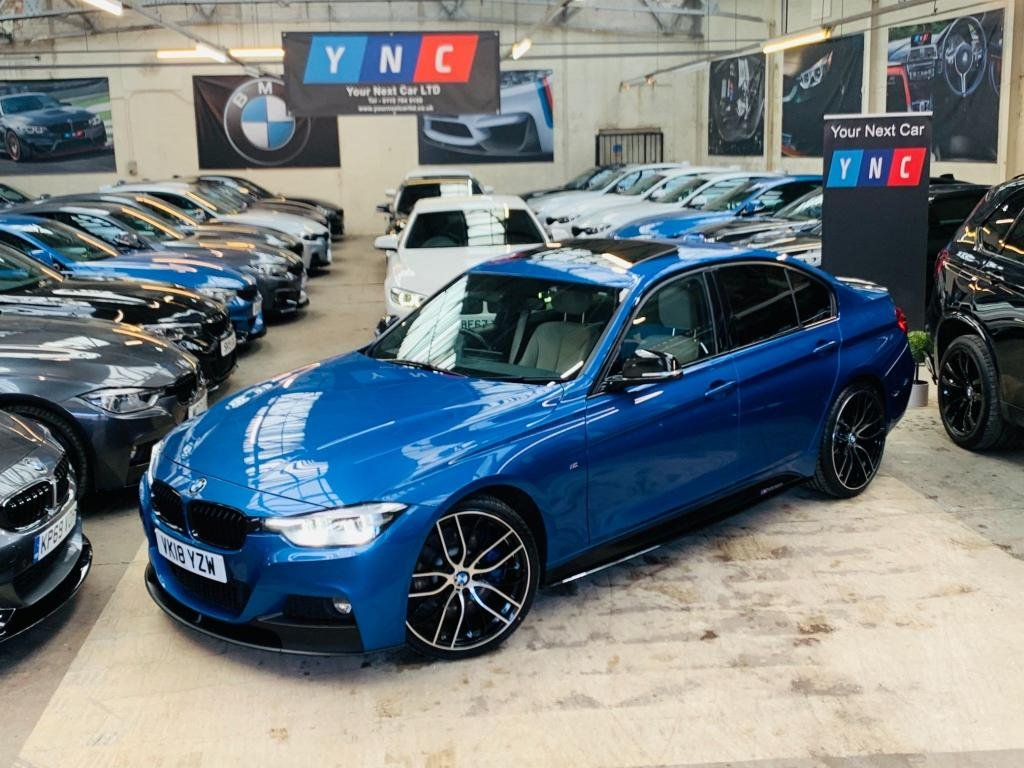 USED 2018 18 BMW 3 SERIES 3.0 330d M Sport Shadow Edition Auto (s/s) 4dr PERFORMANCE KIT -PRO NAV -20S