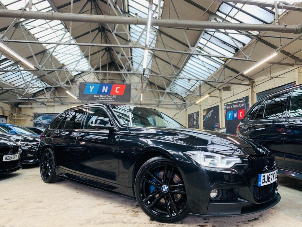 USED 2017 67 BMW 3 SERIES 2.0 320d M Sport Shadow Edition Touring Auto (s/s) 5dr PERFORMANCE KIT 19S HK LEDS!