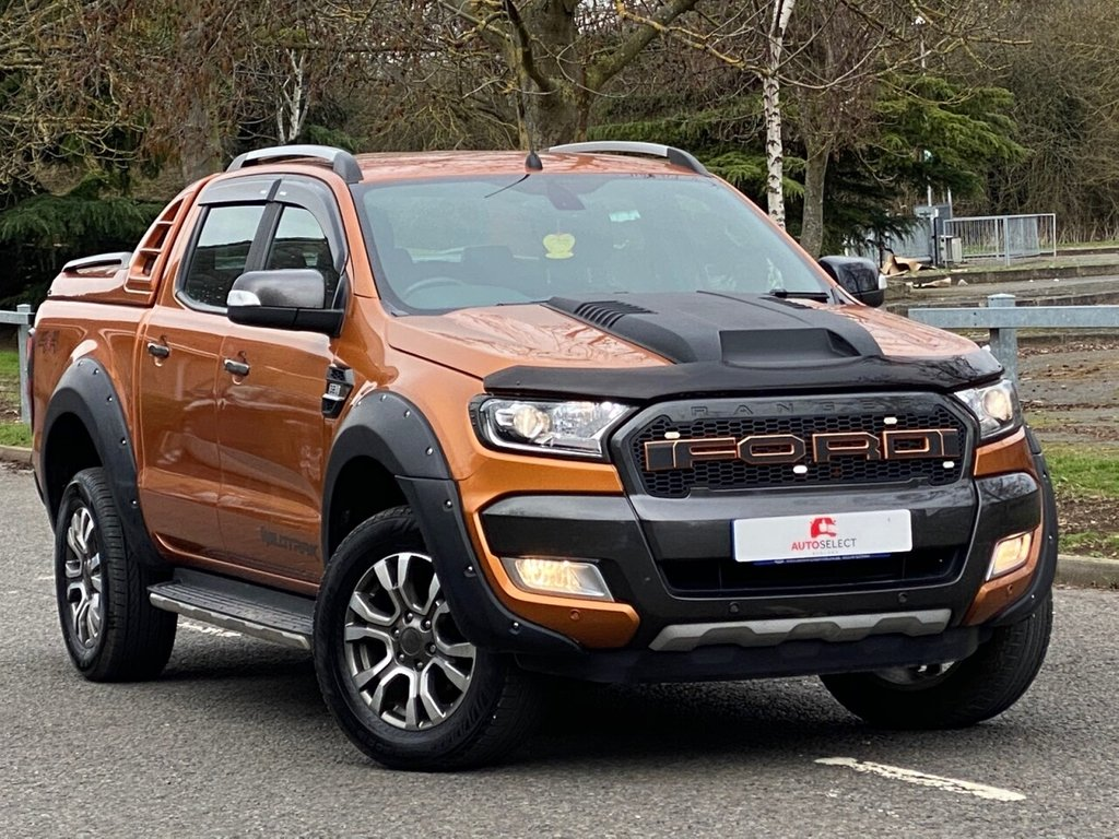 USED 2017 05 FORD RANGER 3.2 WILDTRAK 4X4 DCB TDCI 4d 197 BHP RAPTOR STYLING WIDE ARCH KIT + NO VAT + STUNNING EXAMPLE