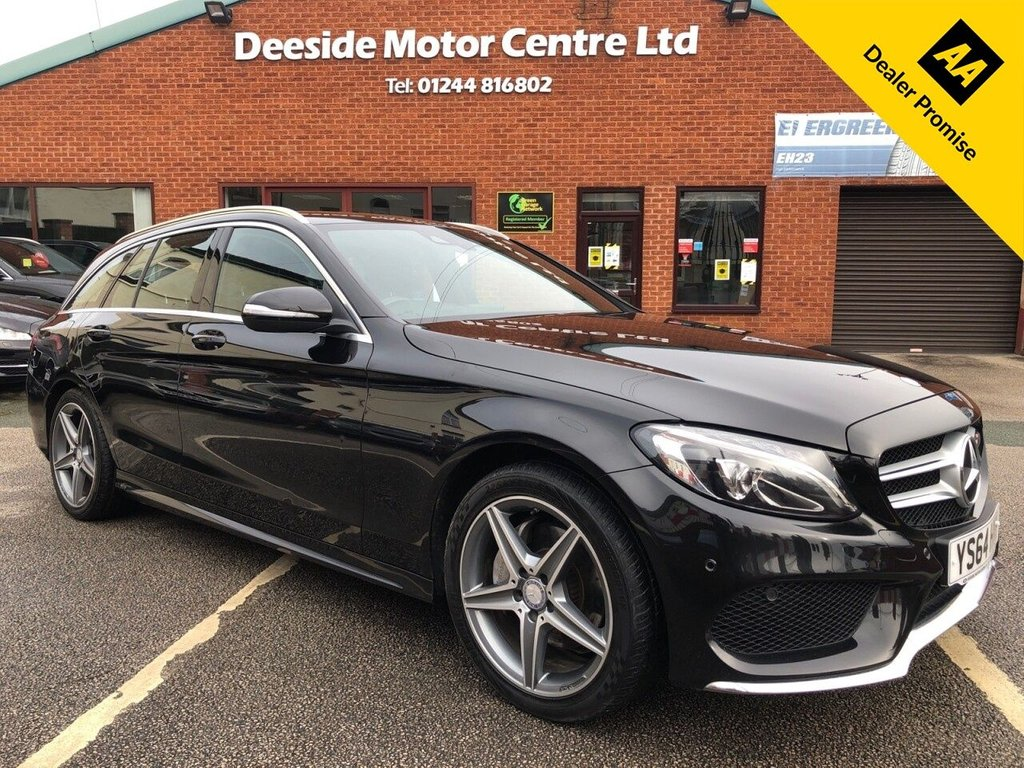 USED 2014 64 MERCEDES-BENZ C-CLASS 2.1 C220 BLUETEC AMG LINE 5d 170 BHP PREVIOUSLY SOLD BY OURSEVES
