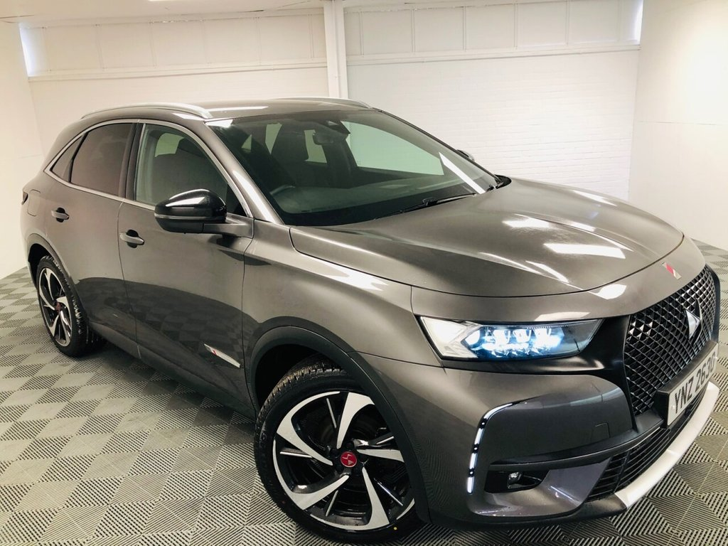 USED 2019 DS DS 7 CROSSBACK 2.0 BLUEHDI PERFORMANCE LINE S/S EAT8 5d 180 BHP £260 a month, T&Cs apply.