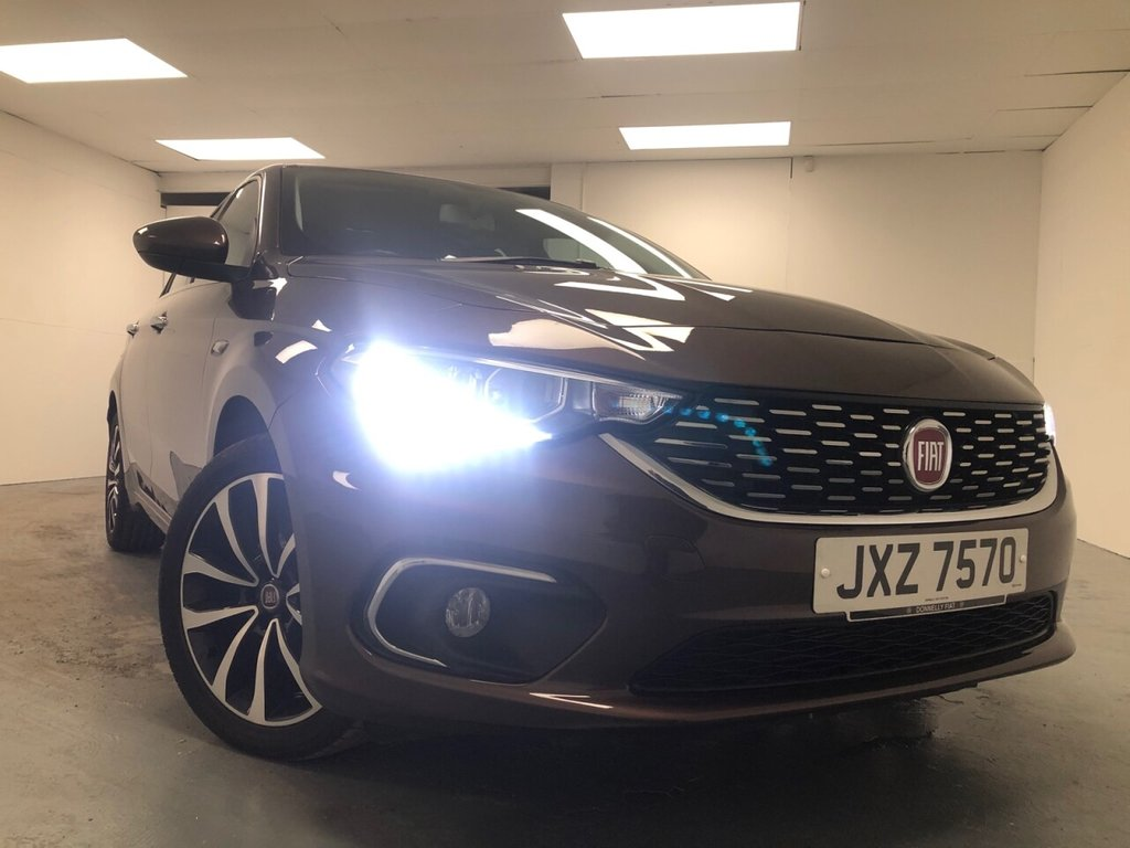 USED 2016 FIAT TIPO 1.6 MULTIJET LOUNGE 5d 118 BHP £161 a month, T&Cs apply.