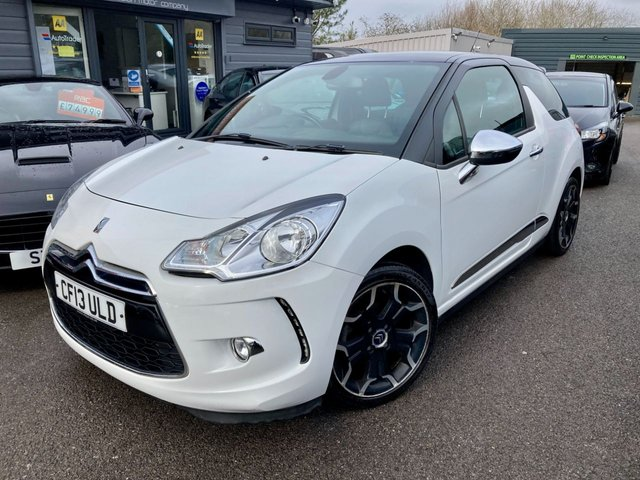 2013 13 CITROEN DS3 1.6 E-HDI AIRDREAM DSPORT PLUS 3d 111 BHP