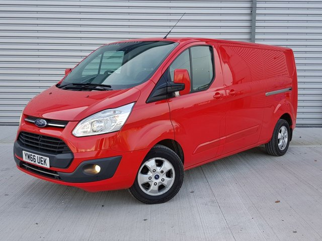 USED 2017 66 FORD TRANSIT CUSTOM 2.0 290 LIMITED LR P/V 129 BHP 2017 1 Owner / Parking Sensors / Heated Seats / Bluetooth