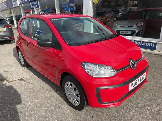 USED 2017 67 VOLKSWAGEN UP 1.0 TAKE UP 3d 60 BHP BLUETOOTH*2KEYS*DAB*SERVICE HISTORY*ISOFIX*AUX*AMFM