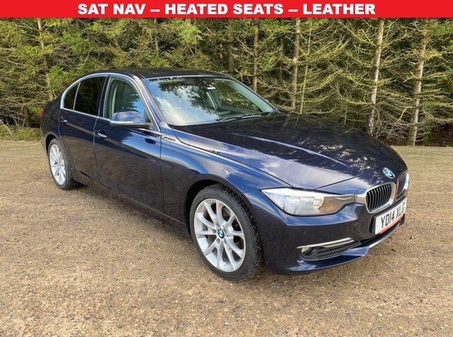 USED 2014 14 BMW 3 SERIES 2.0 320D LUXURY 4d 184 BHP SAT NAV -- HEATED SEATS -- LEATHER