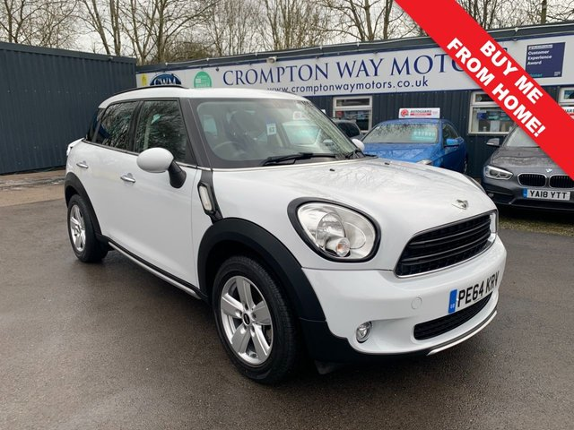 2014 64 MINI COUNTRYMAN 1.6 ONE 5d 98 BHP