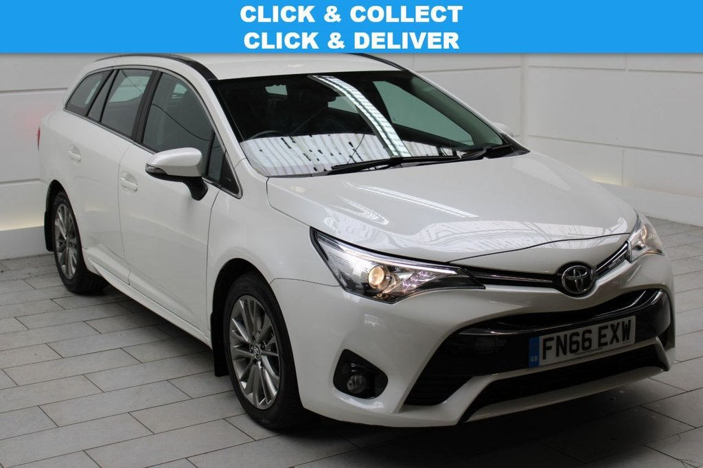 USED 2016 66 TOYOTA AVENSIS  1.6 D-4D Business Edition Touring Sports (stop/start) [SAT NAV]