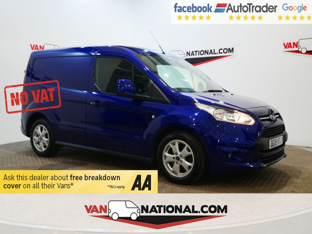 USED 2018 18 FORD TRANSIT CONNECT 1.5 200 LIMITED P/V 120 BHP LIMITED POWERSHIFT WWW.VANNATIONAL.COM