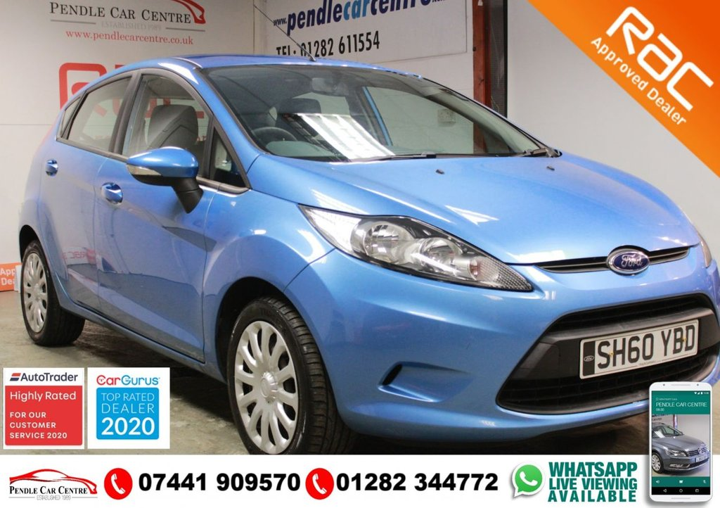USED 2011 60 FORD FIESTA 1.2 EDGE 5d 81 BHP LOW MILEAGE + RECENT SERVICE + RAC PLATINUM WARRANTY INCLUDED + NOVEMBER MOT