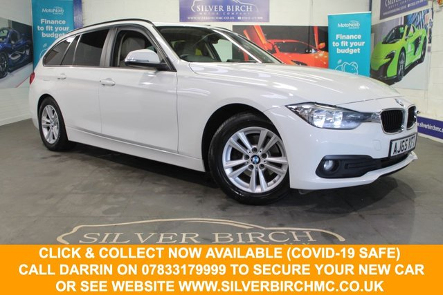 USED 2016 65 BMW 3 SERIES 2.0 320D ED PLUS TOURING 5d 161 BHP Low Deposit Finance Available