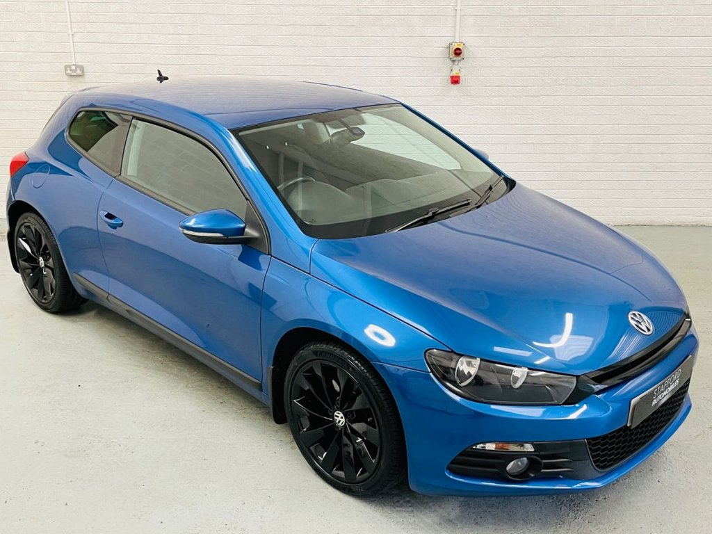 USED 2012 12 VOLKSWAGEN SCIROCCO 2.0 GT TDI 2d 170 BHP DUE IN! 18IN ALLOYS, CRUISE CONTROL, FINANCE AVAILABLE