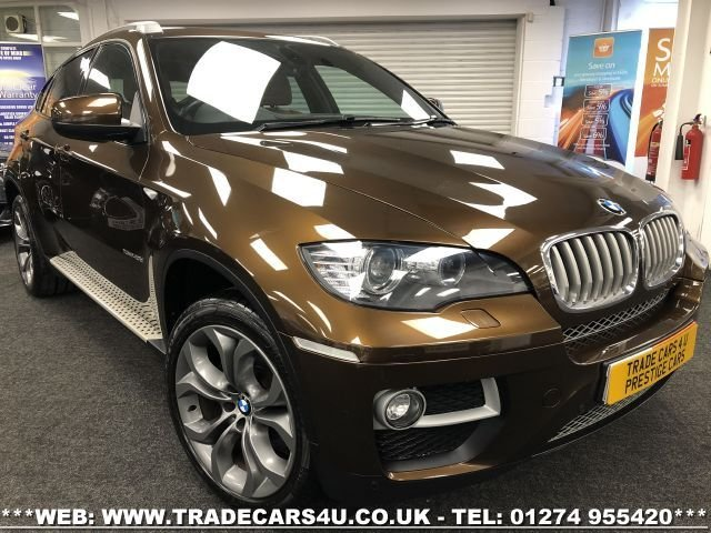 USED 2012 X BMW X6 BMW X6 3.0D XDRIVE40D 4WD AUTO FREE UK DELIVERY*VIDEO AVAILABLE* FINANCE ARRANGED* PART EX*HPI CLEAR