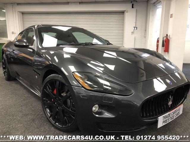USED 2012 12 MASERATI GRANTURISMO MASERATI GRANTURISMO S 4.7 V8 COUPE AUTO MC SPORTLINE FREE UK DELIVERY*VIDEO AVAILABLE* FINANCE ARRANGED* PART EX*HPI CLEAR