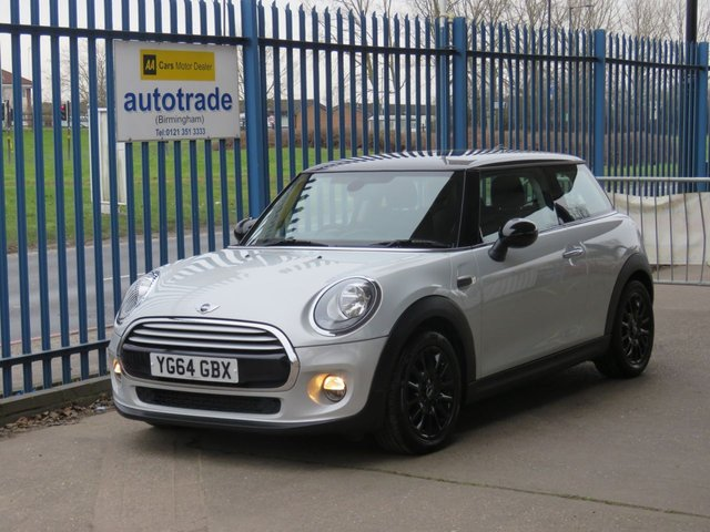 USED 2014 64 MINI HATCH COOPER 1.5 COOPER 3d 134 BHP £20 Tax & Mini Service History